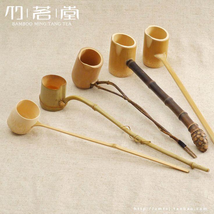 bamboo wine spoons