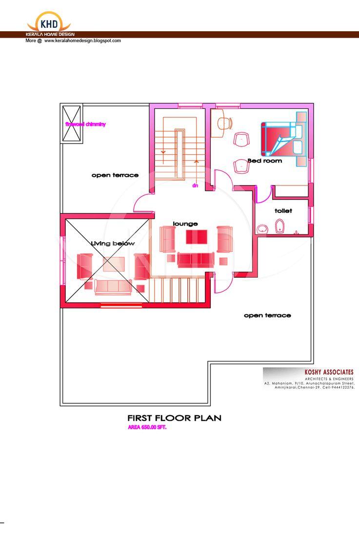 House plans kerala model free vastu house plans kerala lrg - Modern House Plan