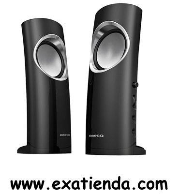 Ya disponible Altavoz omega 2.0 cassini negro USB   (por sólo 20 € IVA incluído):   - OMEGA CASSINI 2.0 ALTAVOCES MULTIMEDIA APLIFICADOS - ALTA CALIDAD DE SONIDO - 6W RMS REALES - CANAL BASS REFLEX - BAJOS PROFUNDOS Y INTENSOS - ENTRADA PARA AURICULARES Y MICROFONO - CONEXION DIRECTA A ALTAVOCES - ALIMENTACIÓN POR USB - REGULADOR DE VOLUMEN - Color:Negro - EAN: 5907595410236 - P/N:OG210C Garantía de 24 meses.  http://www.exabyteinformatica.com/tienda/3363-altavoz-omega-