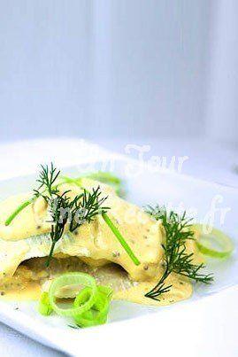 Photo de la recette Filets de cabillaud à la moutarde