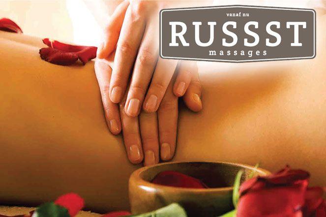 Massagepraktijk Russst Massages viert 1-jarig bestaan met leuke acties