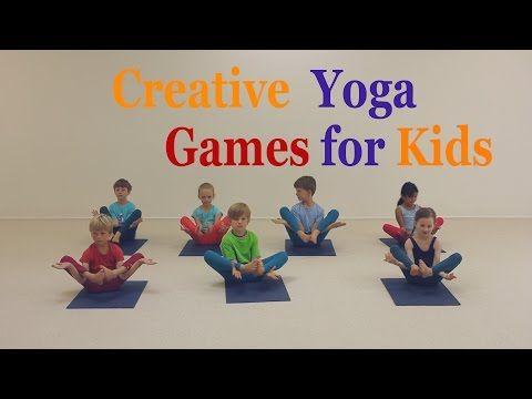 Creative Yoga Games For Kids