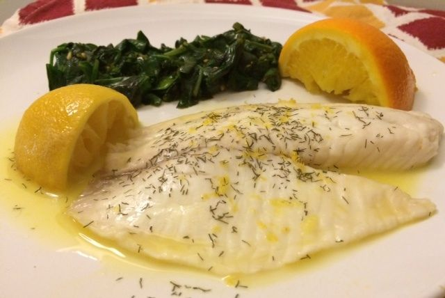 Weekday: Citrus Steamed Tilapia