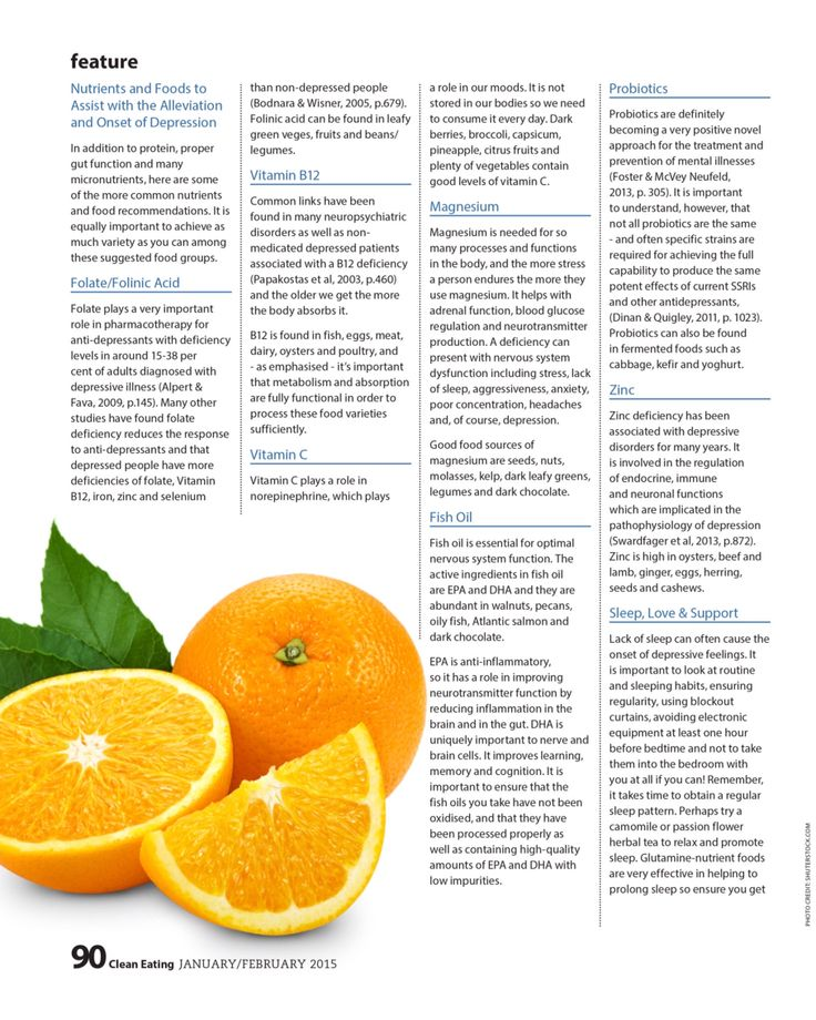 Page 3 Clean Eating Magazine 2015 Improve your Mood with Food
