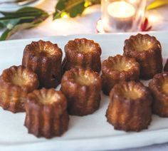 Caramel Canele with Rum by New Zealand chef Annabel Langbein