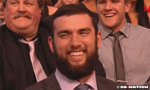 laughing giggle giggling andrew luck hehehe #humor #hilarious #funny #lol #rofl #lmao #memes #cute