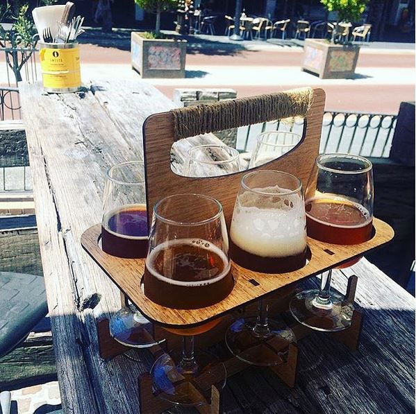 Beer Tasting Paddle @ Monk Brewery & Kitchen