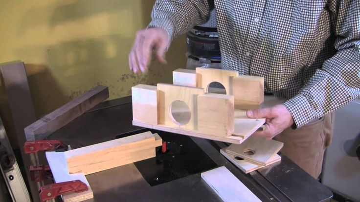Round Tenons On Square Stock Jig Jigs In 2019 Tenon