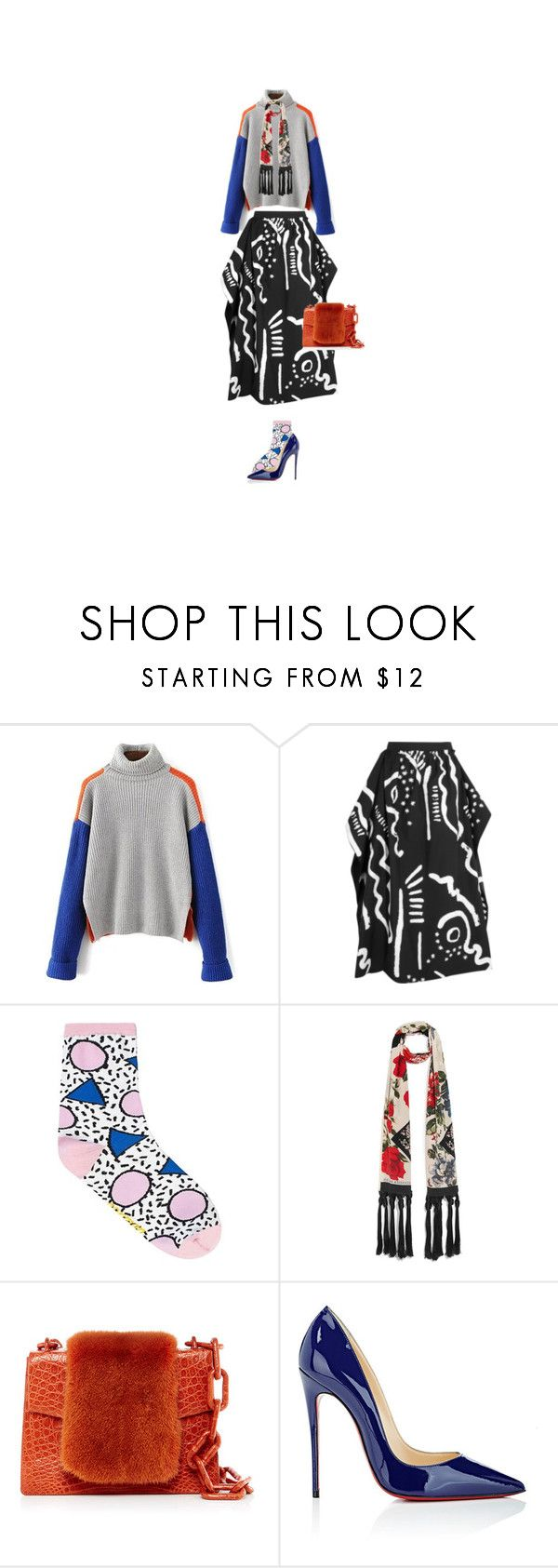 """080317"" by y1232189 ❤ liked on Polyvore featuring Isa Arfen, Alexander McQueen, Nancy Gonzalez and Christian Louboutin"