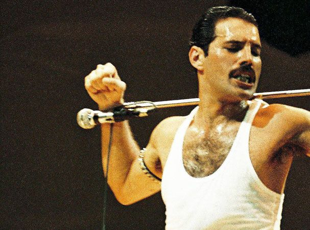 Freddie Mercury (Musician; Queen) - The Queen of Rock 'n Roll; saw them twice in concert and it was fabulous!
