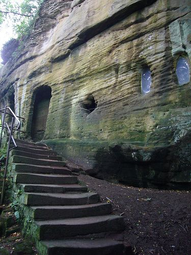 Warkworth Hermitage, Northumberland, UK