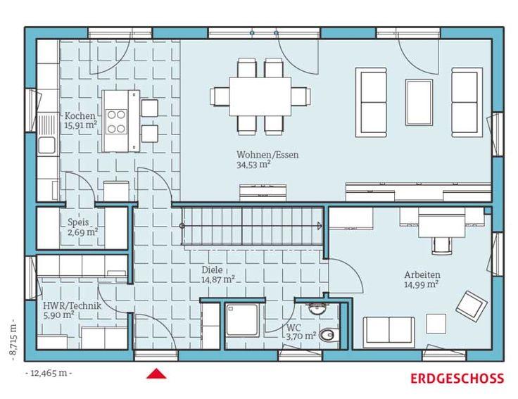 44 best Hausbau images on Pinterest | Architecture, Bedroom ideas ...