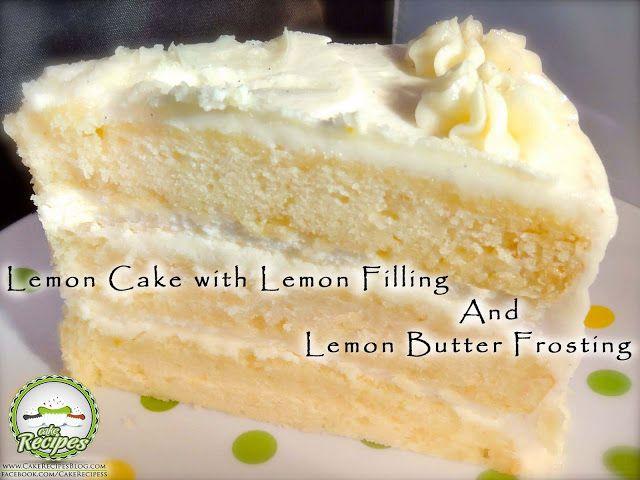 Lemon pound cake with white chocolate glaze