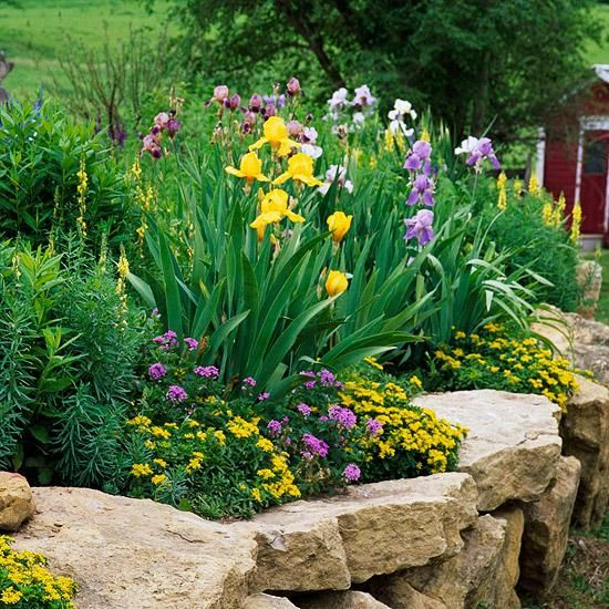 17 best ideas about gartenmauer stein on pinterest | steine für, Garten Ideen