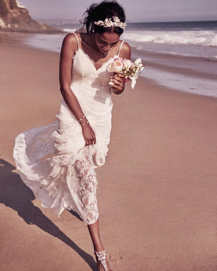 17 best images about beach wedding ideas on pinterest for Davids bridal beach wedding dresses