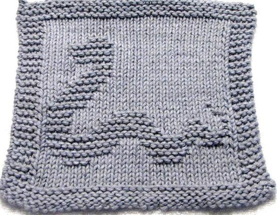 Knitting Cloth Pattern Happy Snake Pdf Etsy In 2020 Knit Dishcloth Washcloth Pattern Knitting Patterns