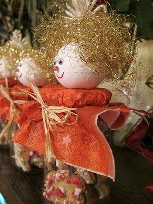 KARÁCSONYI DEKORÁCIÓK: Kreatív ajándék: befőttes üvegből és házi kekszből