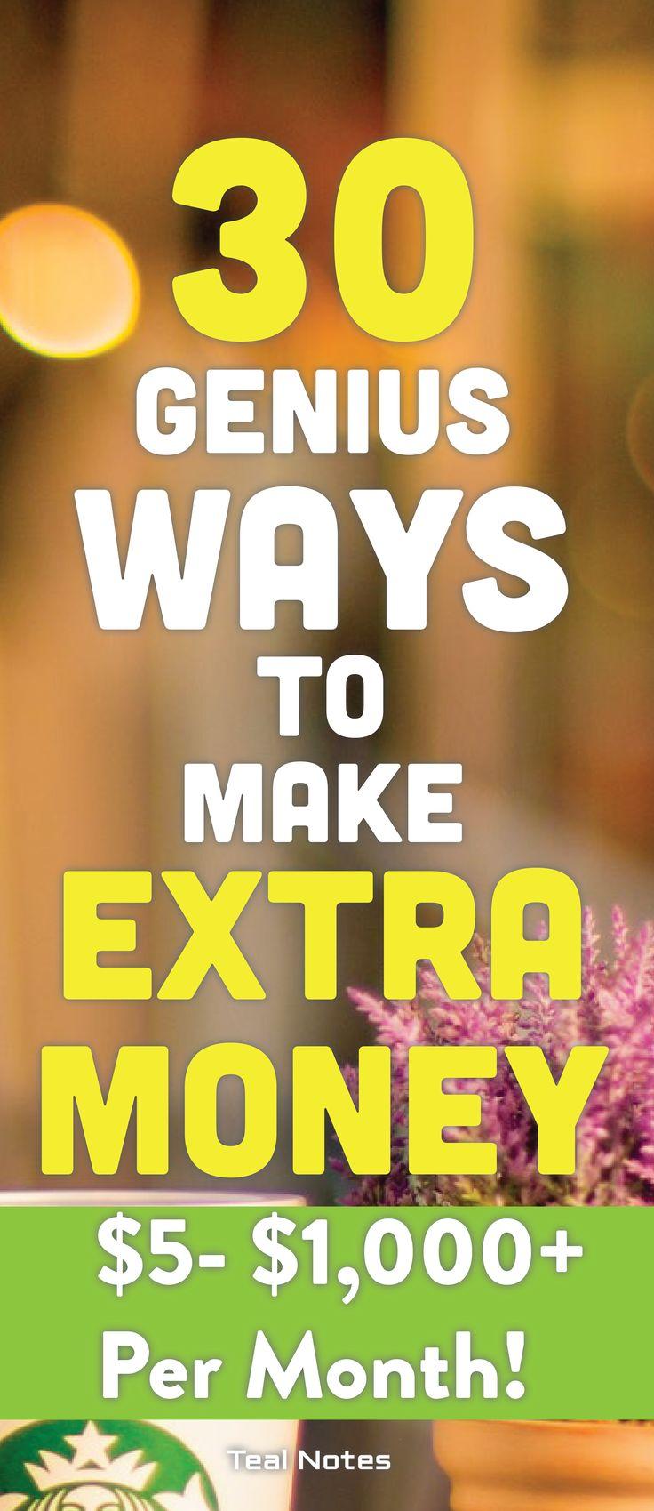 Suchen Sie nach einem Nebengeschäft, um zusätzliches Geld zu verdienen? Dies ist die ultimative Liste für Sie! …   – MAKE MONEY: Work at Home Side Hustle Strategies