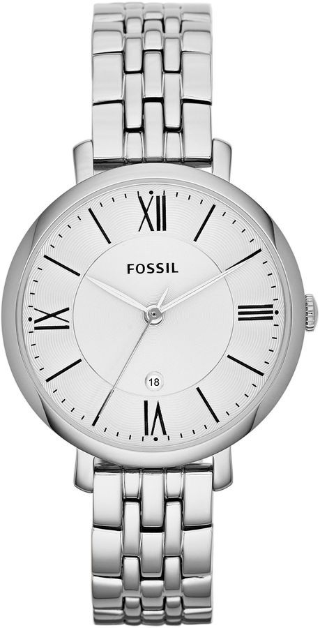 Fossil ES3433 JACQUELINE silver ladies watch on shopstyle.co.uk