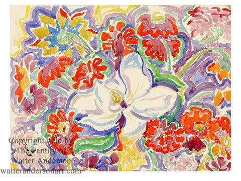 Magnolias and Zinnias – Realizations: The Walter Anderson Shop