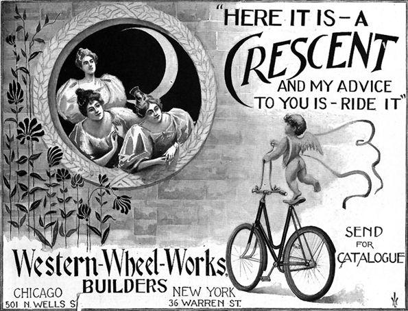 [Crescent Bikes Ad]