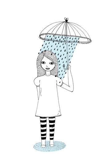 Umbrella girl - Nalisha Chouraria