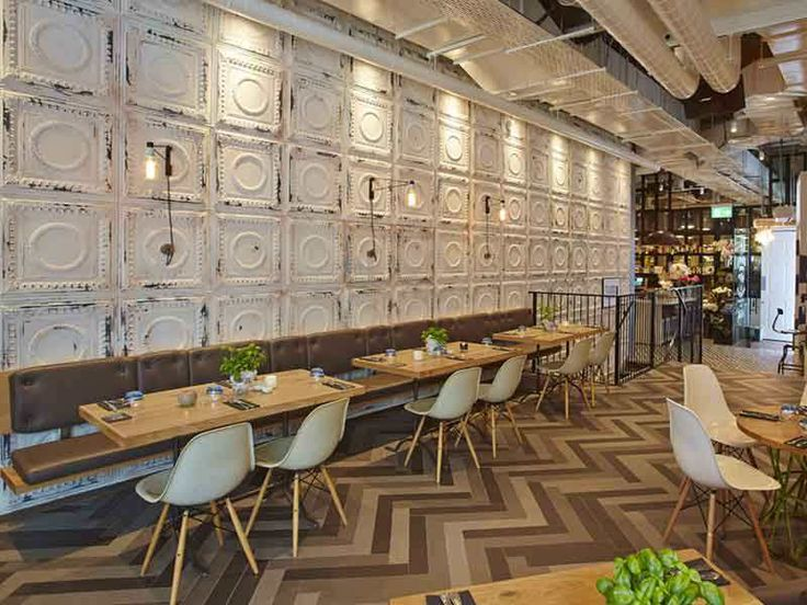 Restaurant Kitchen Wall Finishes 170 best unique bars & restaurants images on pinterest
