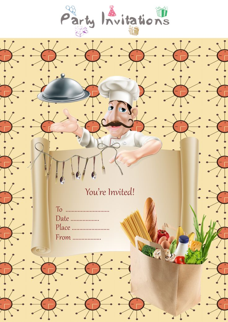 how to create dinner party invitations by yourself