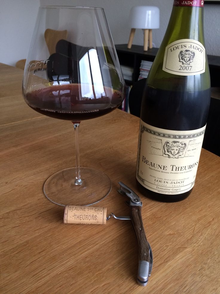 Jadot, Theurons 2007, drinking well