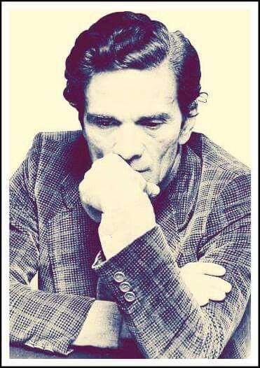 Pier Paolo Pasolini  .grande poeta scrittore regista