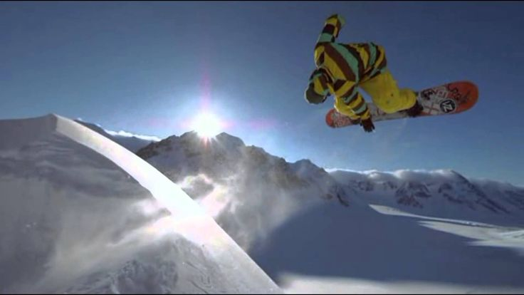 The Art Of Flight - The best snowboarders in the world show their performance in an extraordinary way