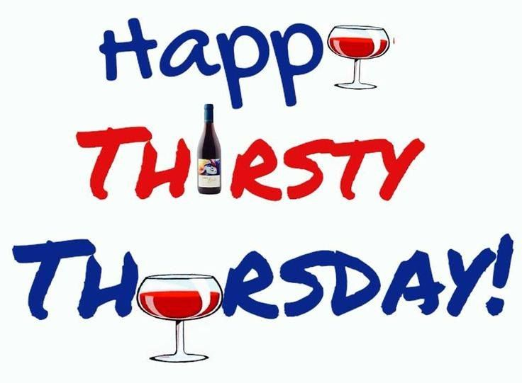 Happy Thirsty Thursday!