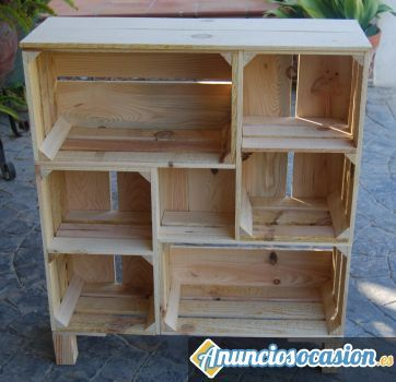 cajas de fruta armario