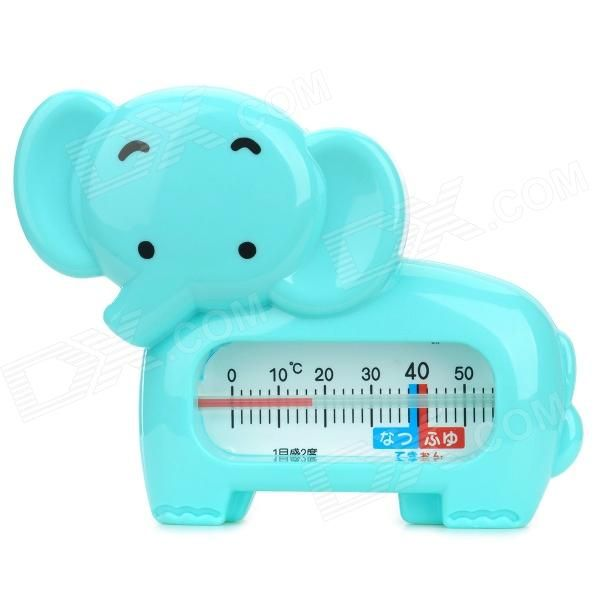 Bain Treasure DX-01 ABS Resin Thermometer - Light Blue