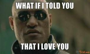 what if i told you i love you meme - Google Search