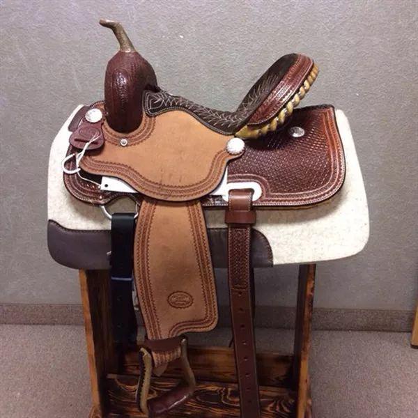 rssaddlery | Billy Cook Barrel Saddle