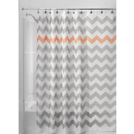 Curtains Ideas coral chevron shower curtain : 17 Best ideas about Chevron Shower Curtains on Pinterest ...