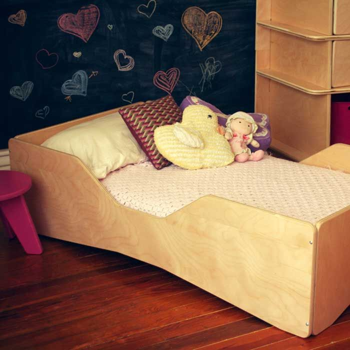 Blonde Aero Toddler #Bed made by Sodura ($246.05)