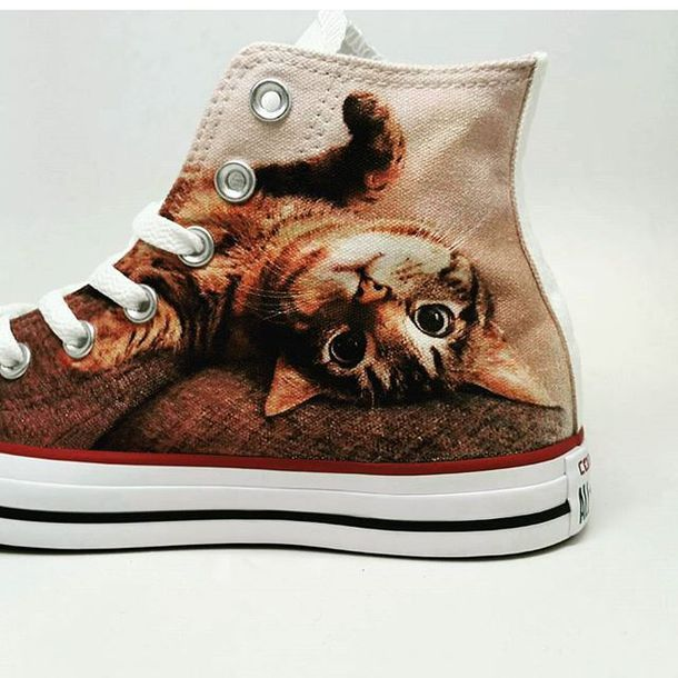 You Can Now Walk With Your Beloved Pet's Photo On Your Shoes