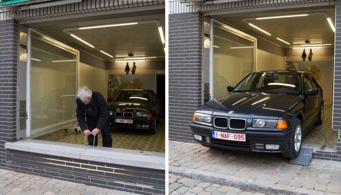 Городской совет запретил строительство гаража, но этот человек нашёл решение