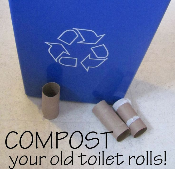 How to Compost Your Old Toilet Rolls