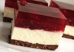 sernik, bez pieczenia, mascarpone, na zimno, z malinami, ciasto, deser,