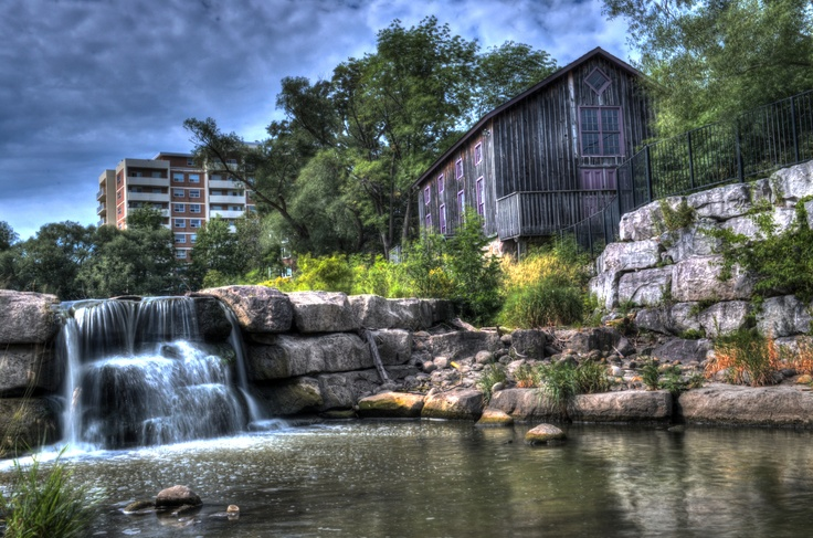 Old Mill in Waterloo, Ontario