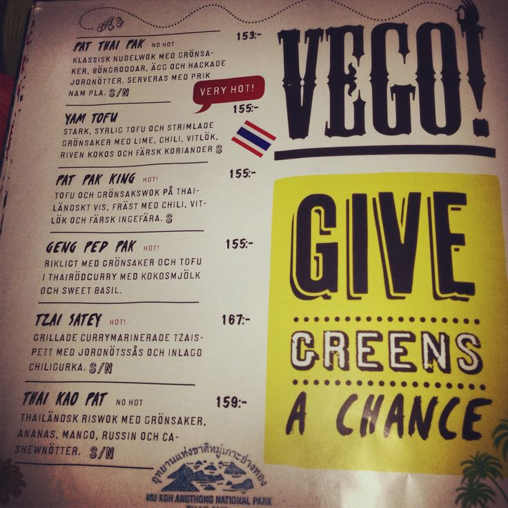 Swedish restaurants are improving...more vego to the people!