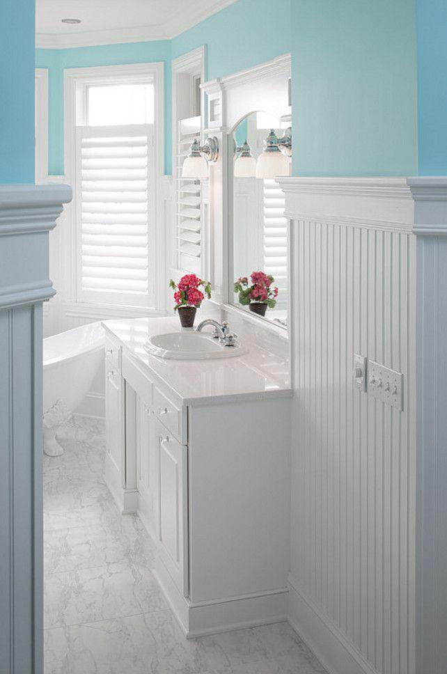 Bathroom Cottage-y Bathroom Ideas for bath redo Pinterest