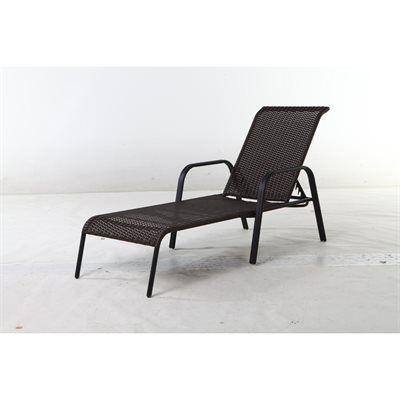 Garden Treasures Pelham Bay Woven Chaise Lounge Chair