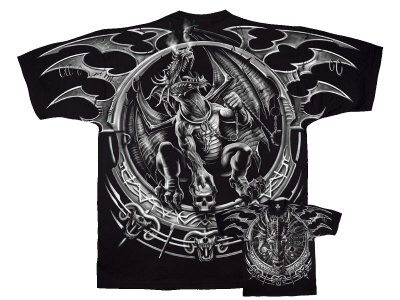 Fantasy - Dragon Catcher T-Shirt. xxl