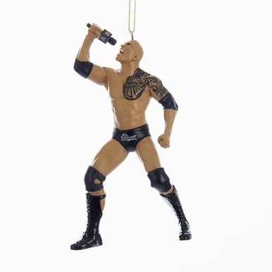 Kurt Adler WWE The Rock Ornament #WE2171R