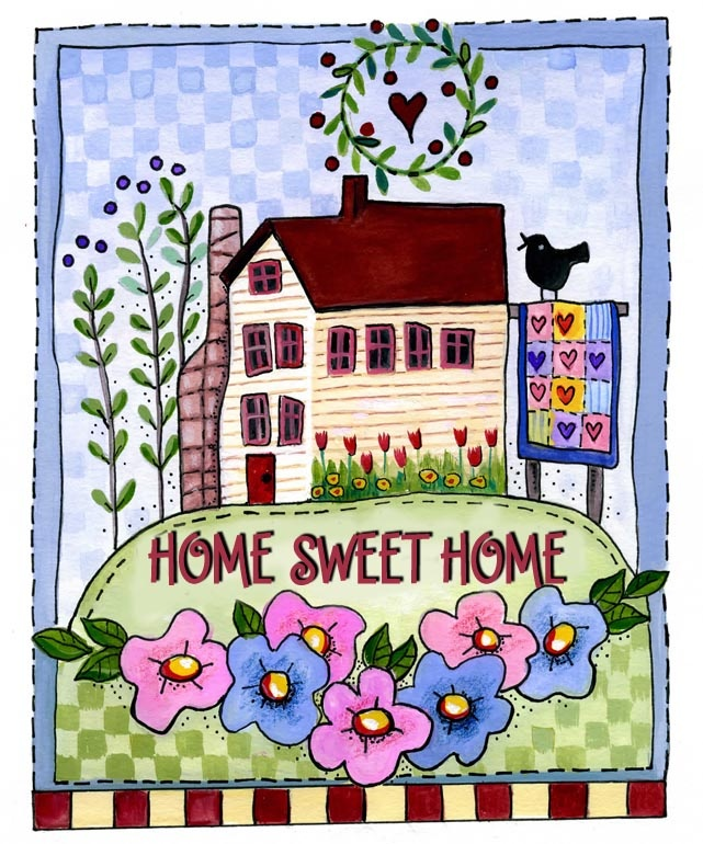 361 best home sweet home signs and illustrations images on pinterest mary engelbreit licence. Black Bedroom Furniture Sets. Home Design Ideas