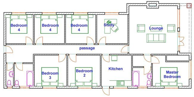 Pin By Tinashe Zihanzu On Ignite Hotel Room Plan House Plans Budget House Plans